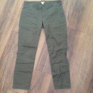 J. Crew Factory Olive Green Pant